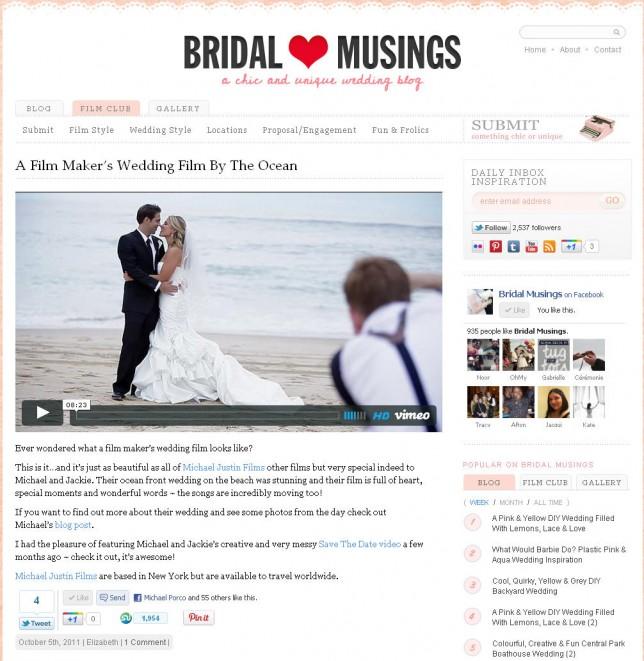 MJF on BridalMusings.com