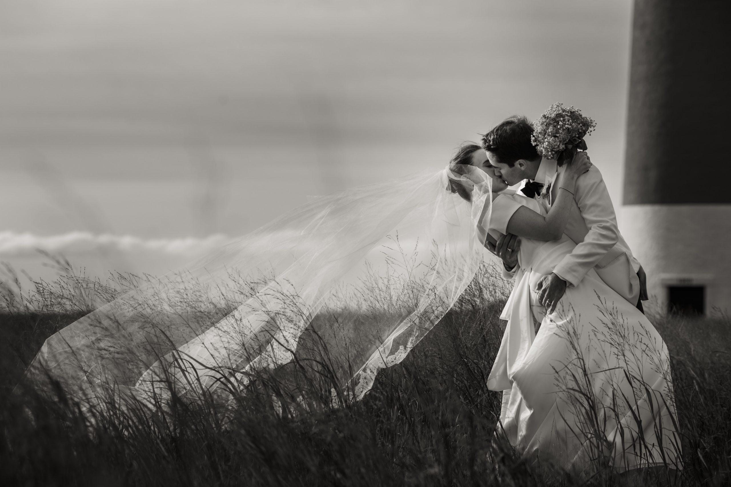 Krista Andrew Nantucket Wedding Photo